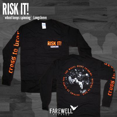RISK IT! ´The Wheel Keeps Spinning´ Longsleeve