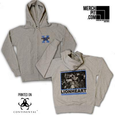 SOMETHING INSIDE ´Lionheart´ Zipper