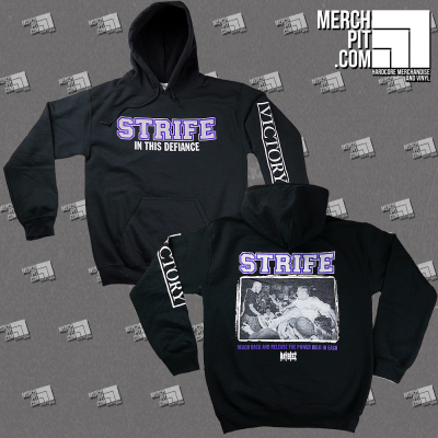 STRIFE ´In This Defiance´ - Black Hoodie