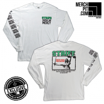 STRIFE ´Show No Mercy´ - White Longsleeve