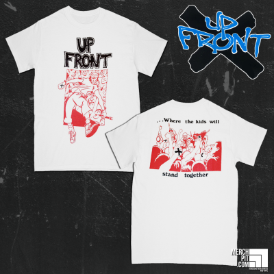 UP FRONT ´Stand Together´ - White T-Shirt