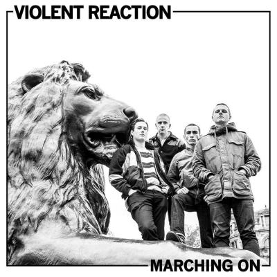 VIOLENT REACTION ´Marching On´ [LP]