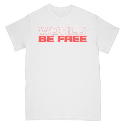 WORLD BE FREE ´One Time For Unity´ - White - T-Shirt
