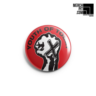 YOUTH OF TODAY ´Fist´ - Button