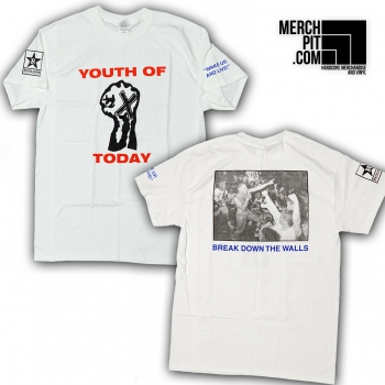 YOUTH OF TODAY ´Break Down The Walls´ Shirt