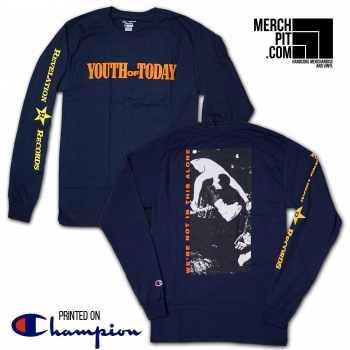 YOUTH OF TODAY ´We're Not In This Alone´ [Longsleeve]