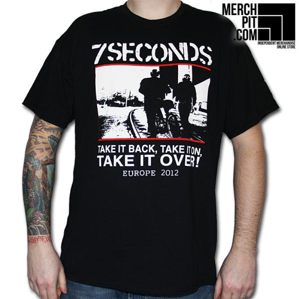 7 Seconds - Take It Over - T-Shirt