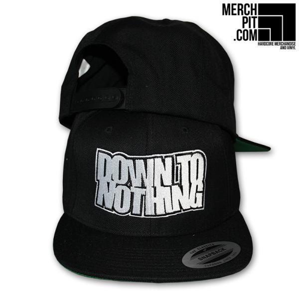 Down To Nothing - Logo - Snapback Hat