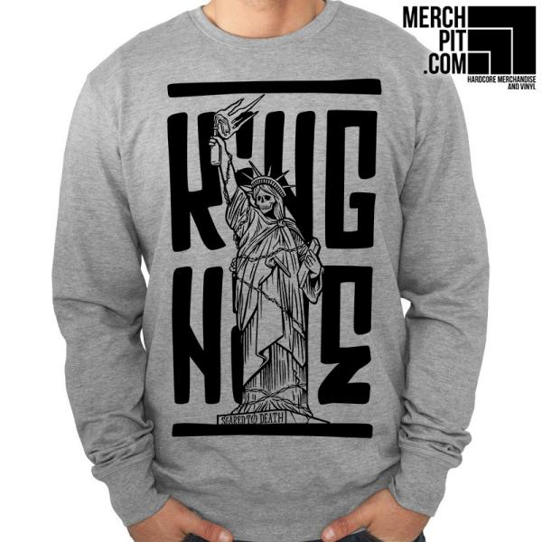 King Nine - Scared To Death - Crewneck Sweatshirt