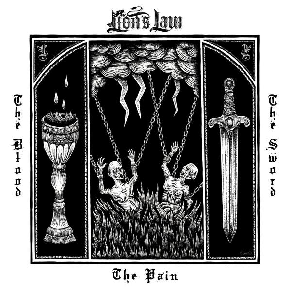 LION`S LAW ´The Pain,The Blood and The Sword´ LP