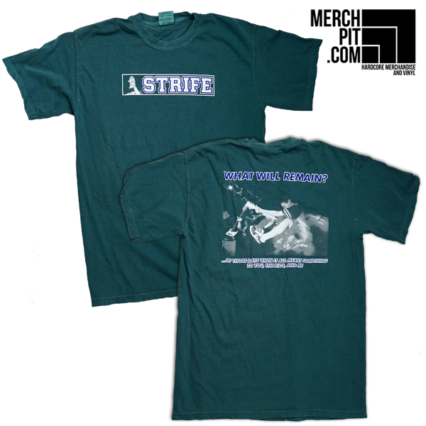 STRIFE ´What Will Remain´ Emerald Green [Shirt]