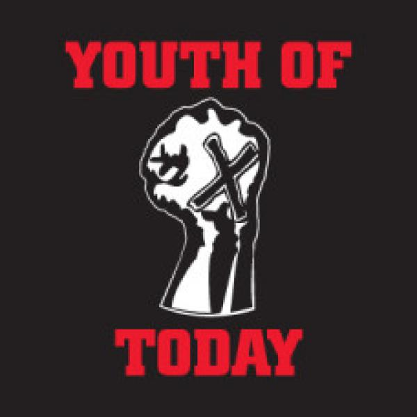 YOUTH OF TODAY ´X'ed Fist´ - Banner
