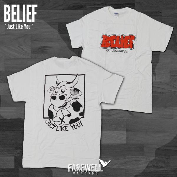 BELIEF ´Just Like You´ White [Shirt]