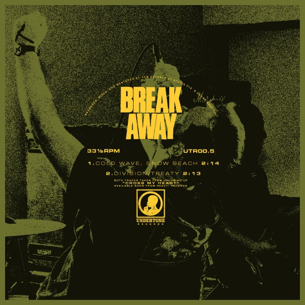 "BREAK AWAY ´Cold Wave, Snow Beach b/w Division/Treaty´ [7"" flexi]"