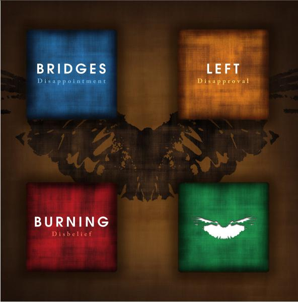 "BRIDGES LEFT BURNING ´Disappointment, Disapprove, Disbelief´ [10""]"