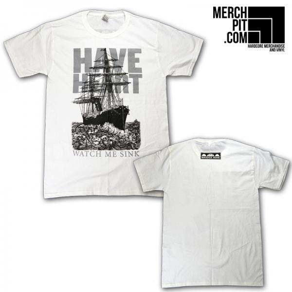 HAVE HEART ´Watch Me Sink´ - White T-Shirt