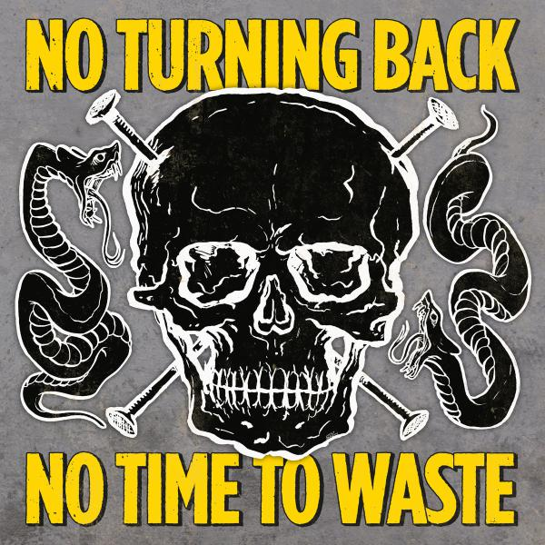 No Turning Back - No Time To Waste - LP Yellow/Black Mix