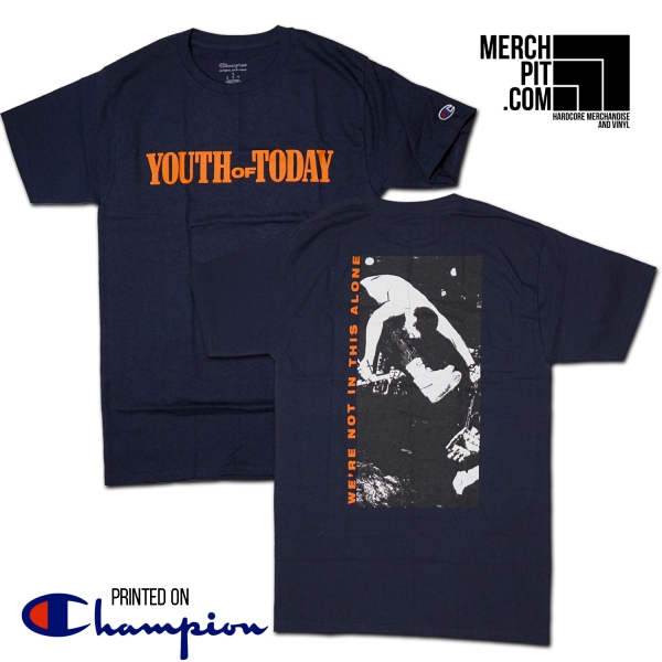 YOUTH OF TODAY ´We're Not In This Alone´ Shirt