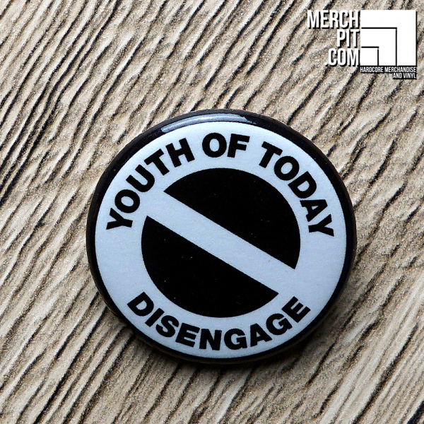 YOUTH OF TODAY ´Disengage 2´ - Button