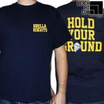 GORILLA BISCUITS ´GB Pocket´ - Navy Blue T-Shirt