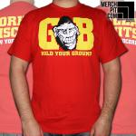 GORILLA BISCUITS ´Hold Your Ground´ - Red T-Shirt