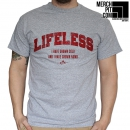 LIFELESS ´Grown Cold´ - Sports Grey T-Shirt