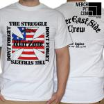 WARZONE ´Don't Forget The Struggle, Don't Forget The Streets´ - White T-Shirt