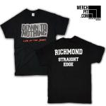 DOWN TO NOTHING ´Richmond Straight Edge´ Shirt