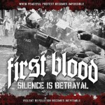 FIRST BLOOD ´Silence Is Betrayal´ LP