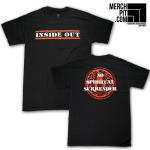 INSIDE OUT ´No Spiritual Surrender´ - Black T-Shirt