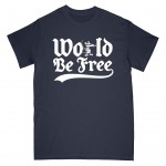 WORLD BE FREE ´Rev Rat´ - Navy Blue - T-Shirt
